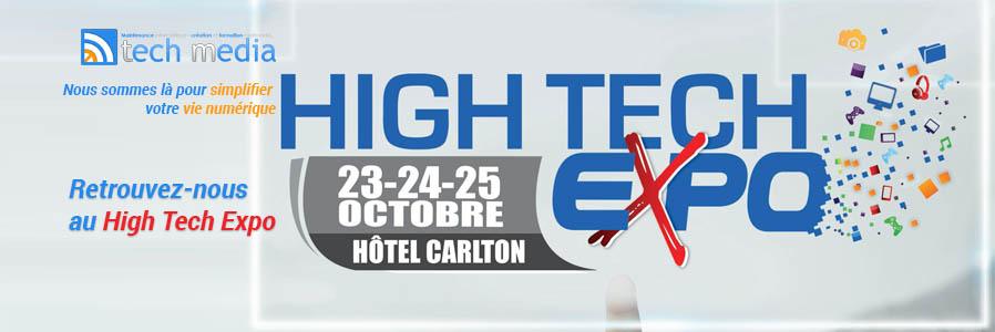 Retrouvez-nous au High Tech Expo!
